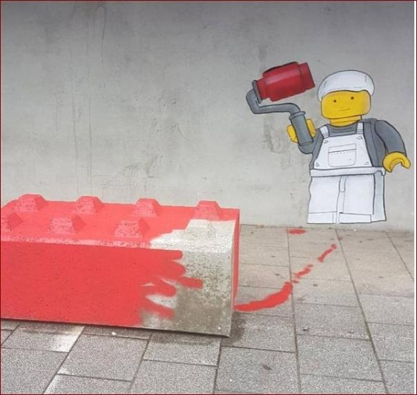 Lego peintre - CBD et OAK OAK 2018 - Bd Victor Hugo au niveau du lycée.jpg