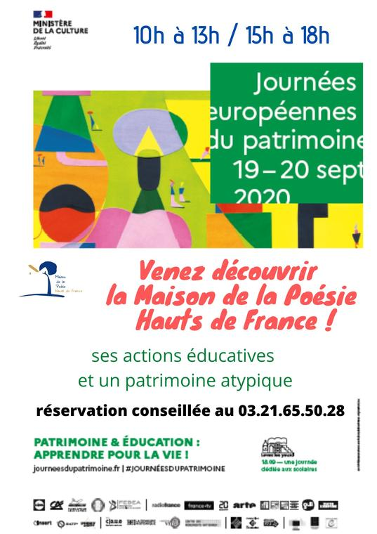 venez découvrir la Maison de la Poésie des Hauts de France ! journée du patrimoine.jpg