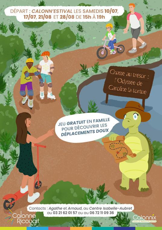 Affiche Odysée de Caroline la tortue.jpg