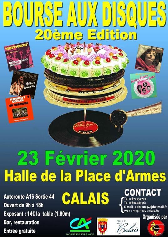 Bourse aux disques La Halle Calais 23 février 2020.jpg