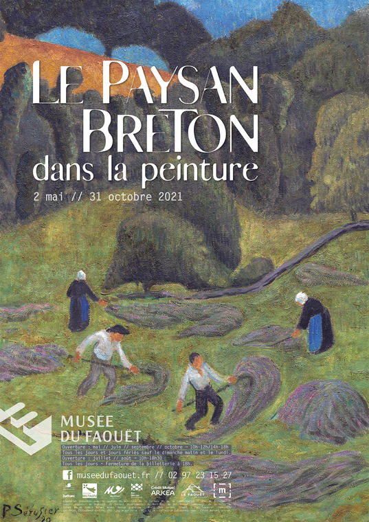 Affiche Le Paysan breton dans la peinture.jpg