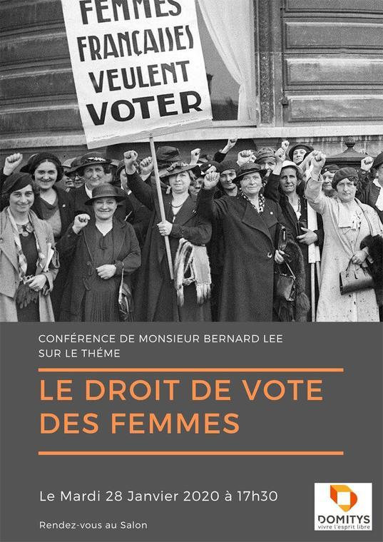 Conférence droit de vote des femmes domitys 28 janvier.jpg