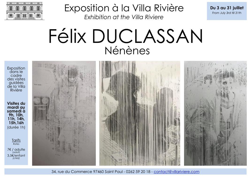 Affiche Exposition Félix DUCLASSAN à la Villa Rivière.jpg