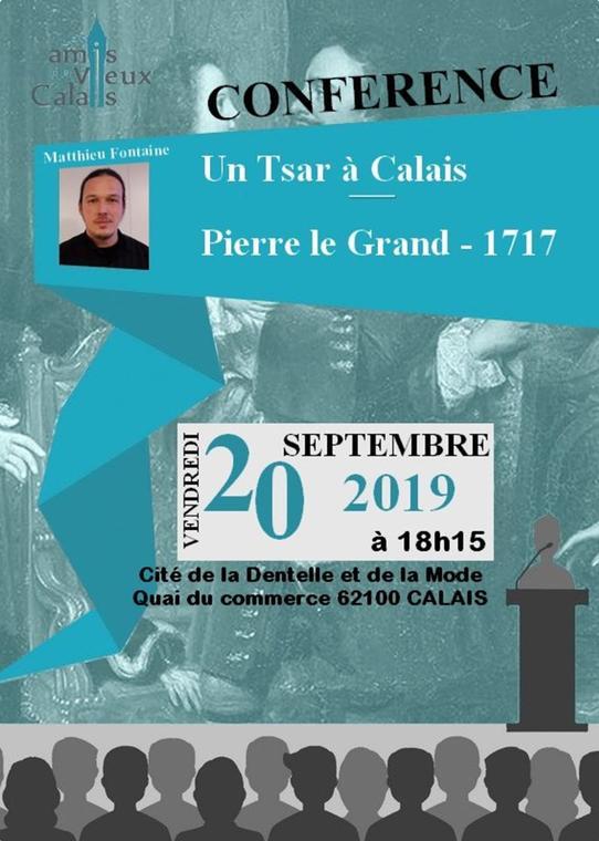 Conférence  Pierre le Grand, Tsar de Russie à Calais.jpg