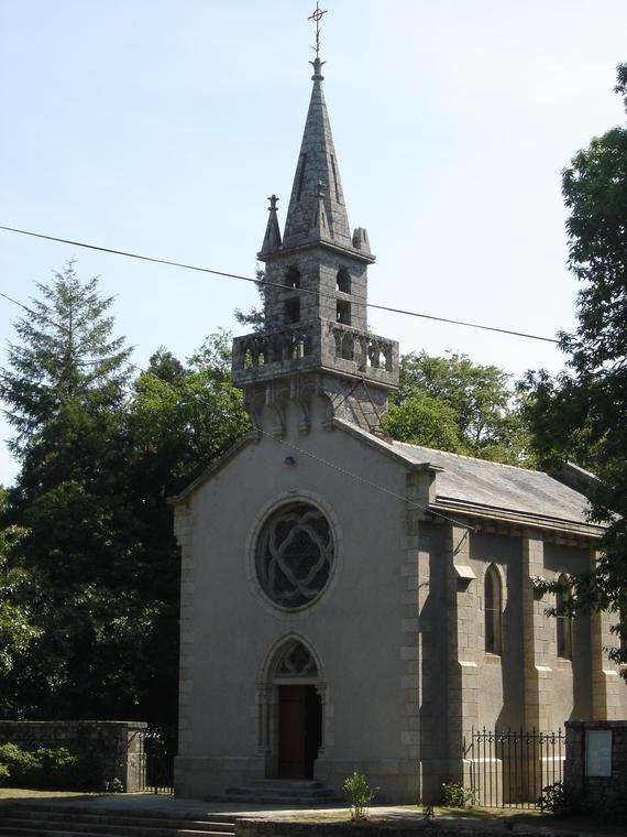 Chapelle Ste Anne des Bois - Berné - Pays roi Morvan - Morbihan Bretagne sud - CP OTPRM (7).JPG