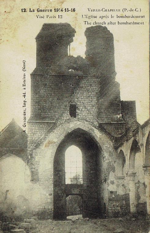 eglise vieille chapelle apres le bombardement.jpg