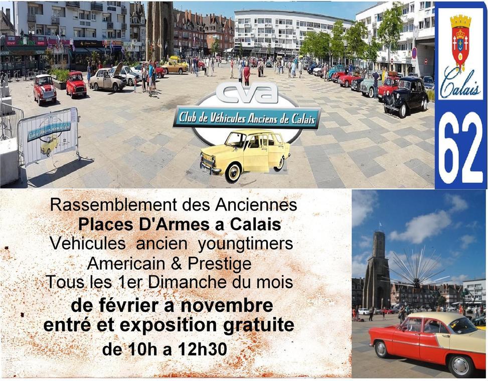 rassemblement Calais voitures ancienes place d'Armes 1 février 2020.jpg