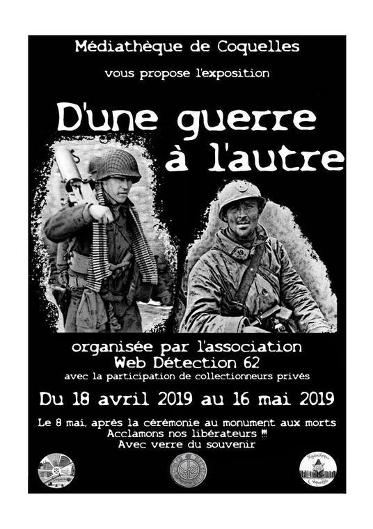 exposition « D'une guerre à l'autre »  18 avril au 16 mai.jpg