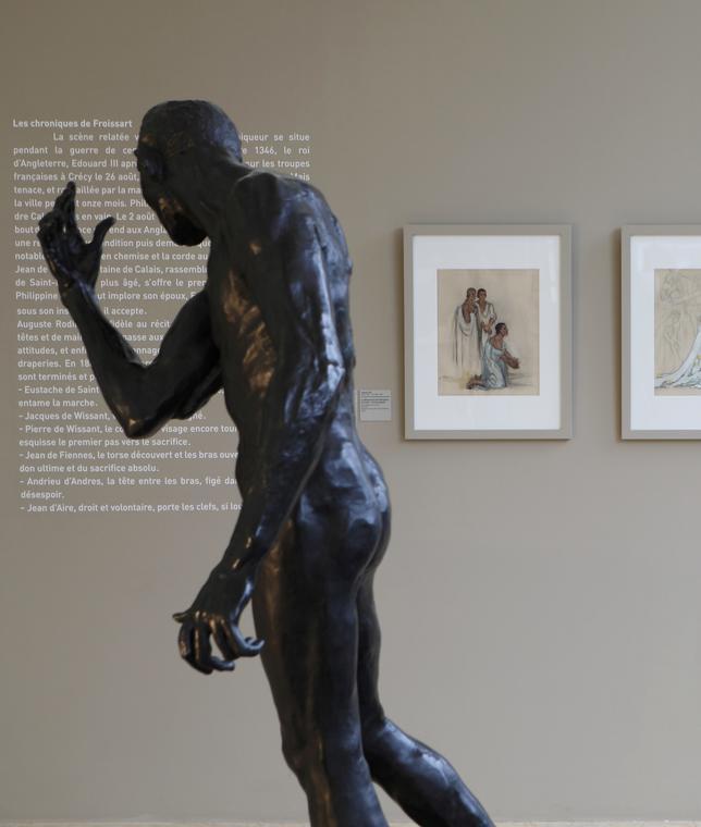 Salle Rodin, mention Musée des beaux-arts, vue générale de la salle Rodin de Paris à Calais. © E. Watteau (2).jpg