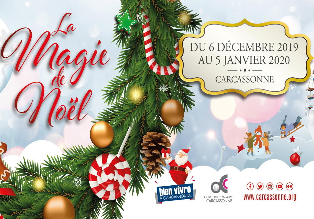 La Magie De Noel LA MAGIE DE NOËL   Christmas   Carcassonne | Office de tourisme de