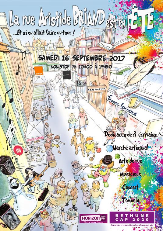 La rue Aristide Briand en fête.jpg