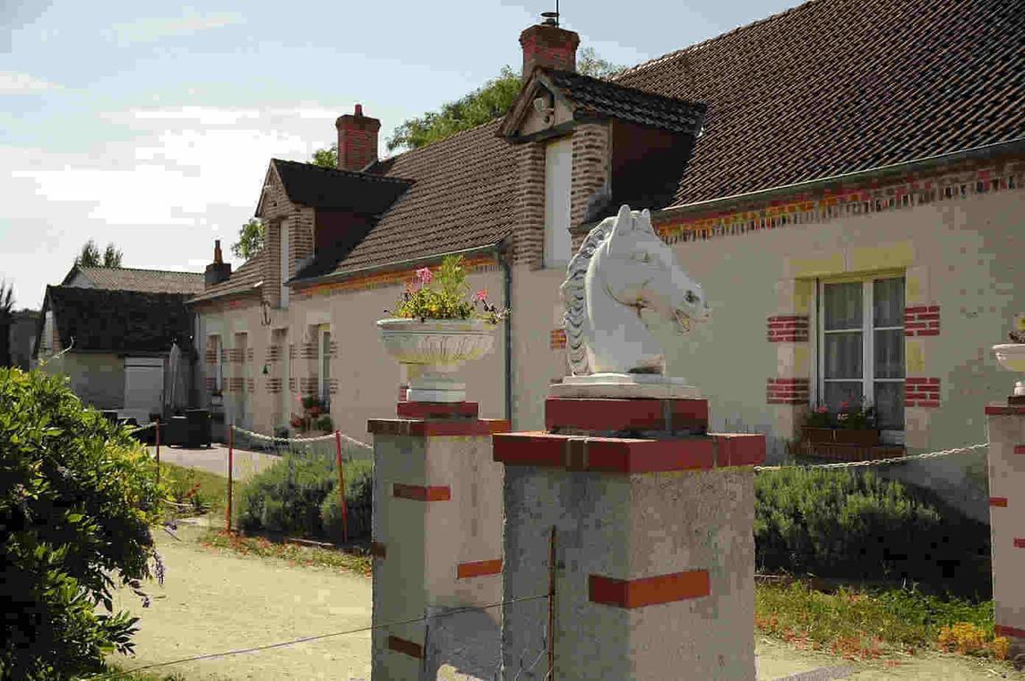 La Ferme De La Maugerie à Thoury dans le Val de Loire