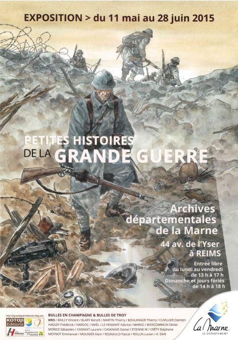 Petites histoires de la Grande Guerre - Archives Départementales.JPG