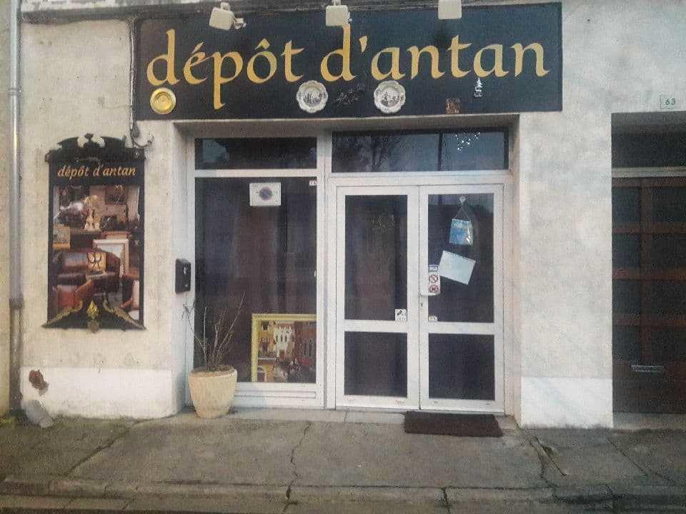 LE DÉPÔT D'ANTAN