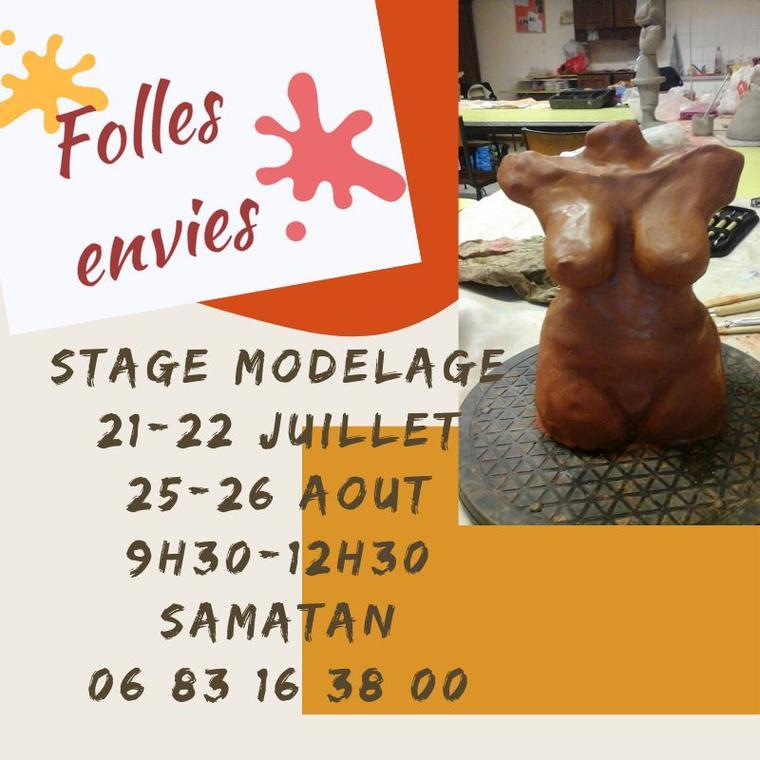 Stage de modelage
