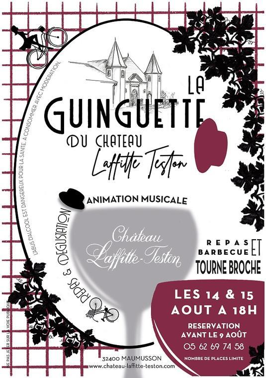 La GUINGUETTE CHATEAU LAFFITTE TESTON