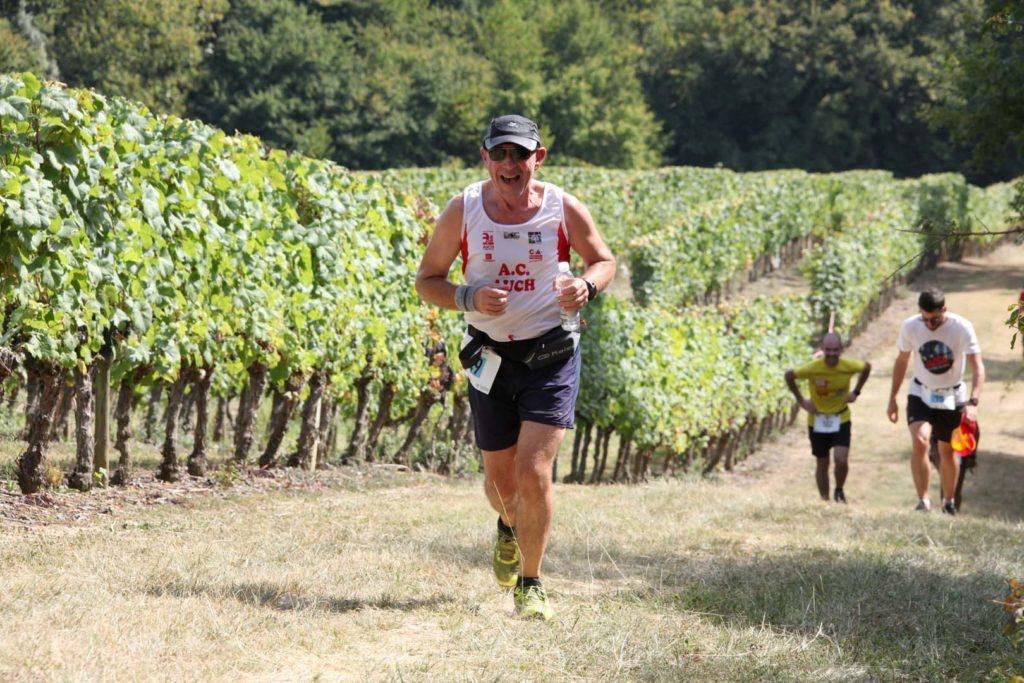 Saint mont vignoble en course