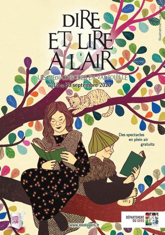festival  Dire et lire en l'Air