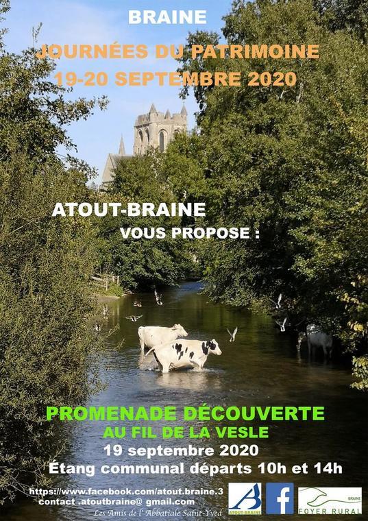 Braine_journées du patrimoine_atout_2020