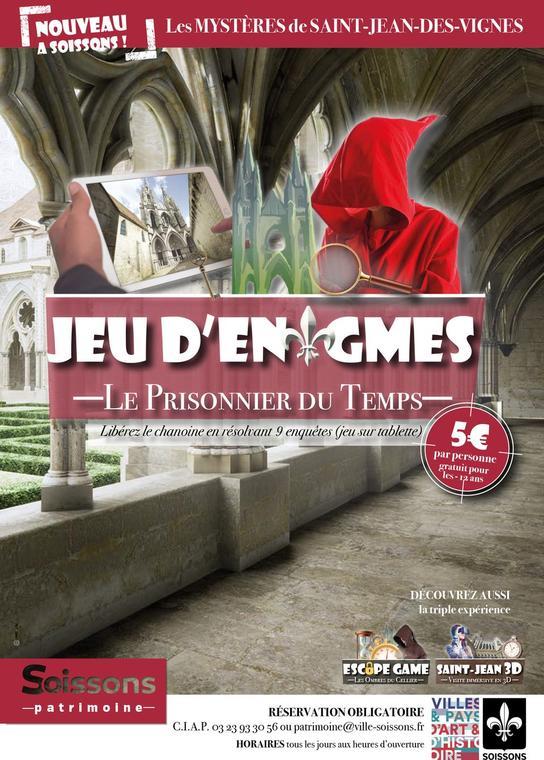 Jeu d'énigmes < Soissons < Aisne