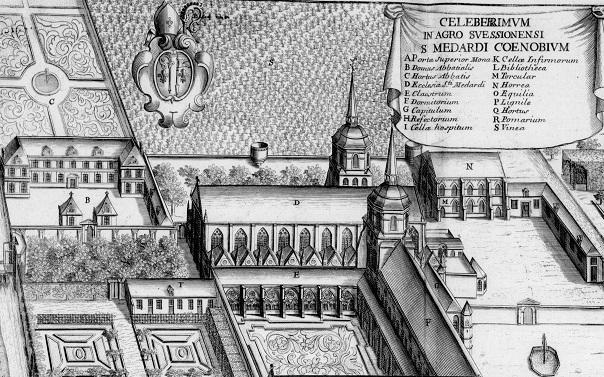 a l'abbaye saint médard