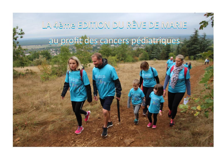 rando contre les cancers pédiatriques