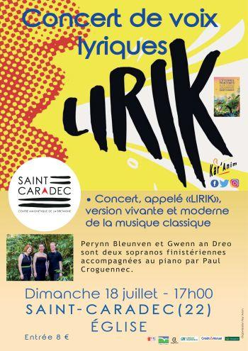 Affiche concert LIRIK 18 juillet ok