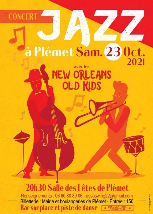Concert jazz - Plémet - 23 octobre 2021