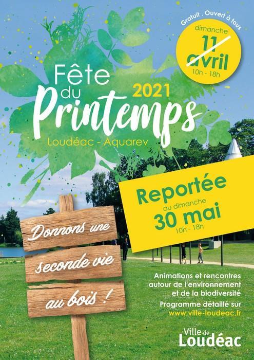 Fête du printemps - Loudéac - Report 30 mai 2021