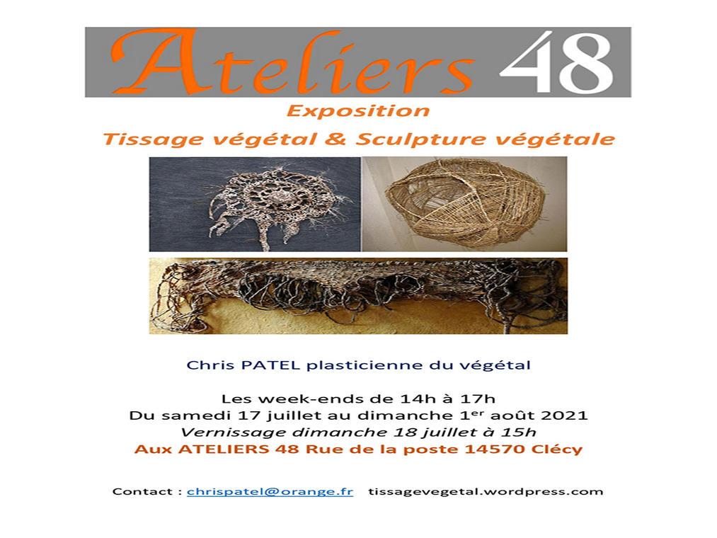 Affiche expo Chris PATEL