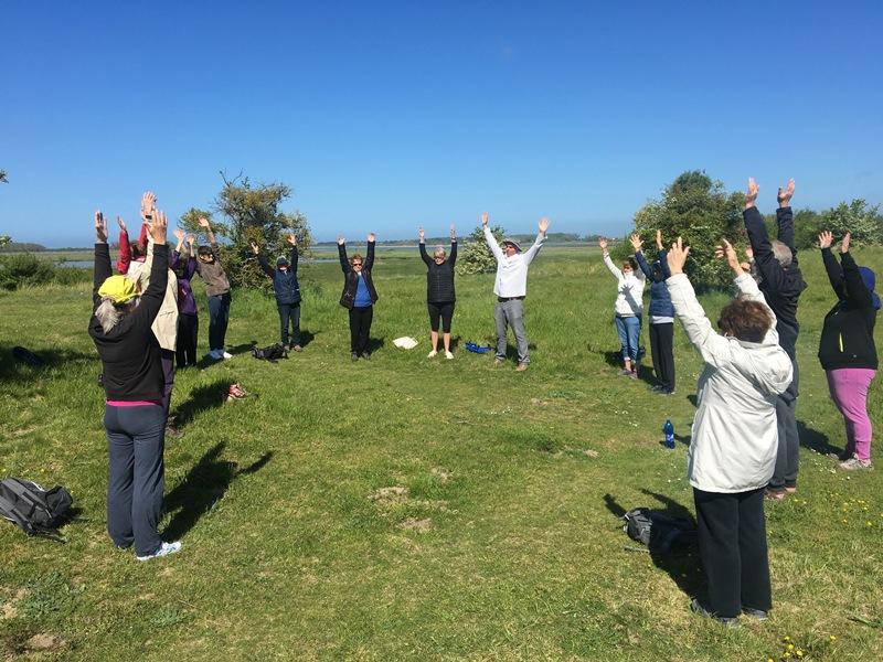Yoga pleine nature