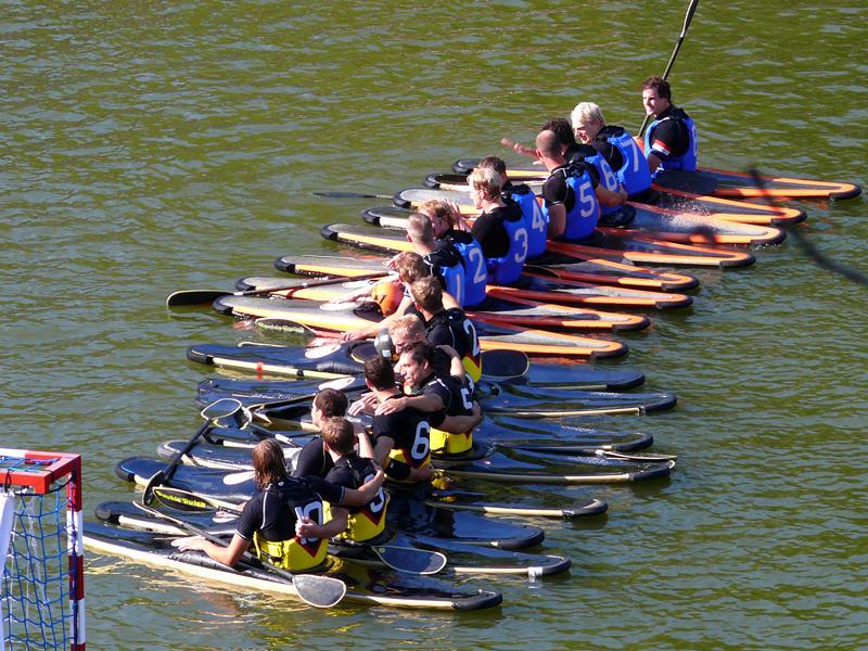 Equipes de kayak polo