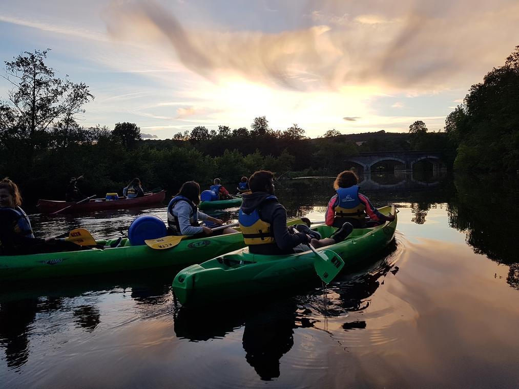 Sortie en canoë-kayak de nuit - Thury harcourt