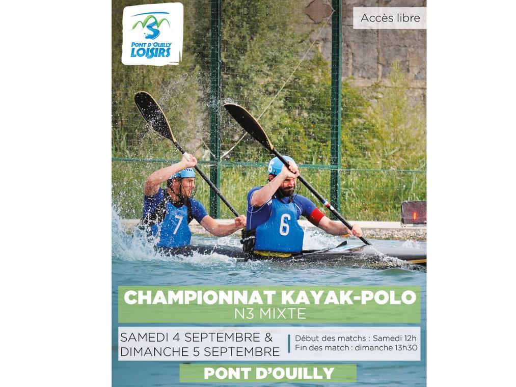 championnat kayakpolo