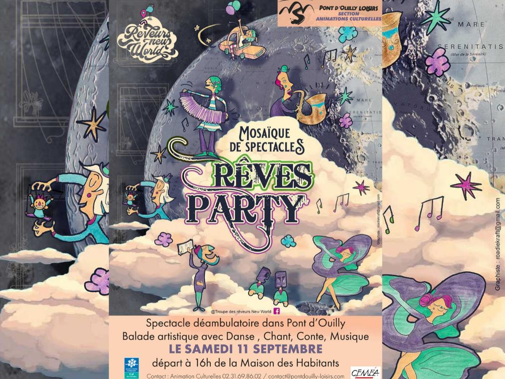 Rêves Party à Pont-d'Ouilly