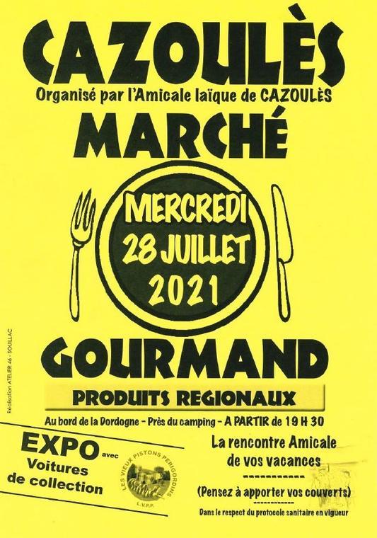 Marché Gourmand de Cazoulès