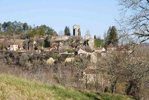 Mauzens et Miremont - Château de Miremont