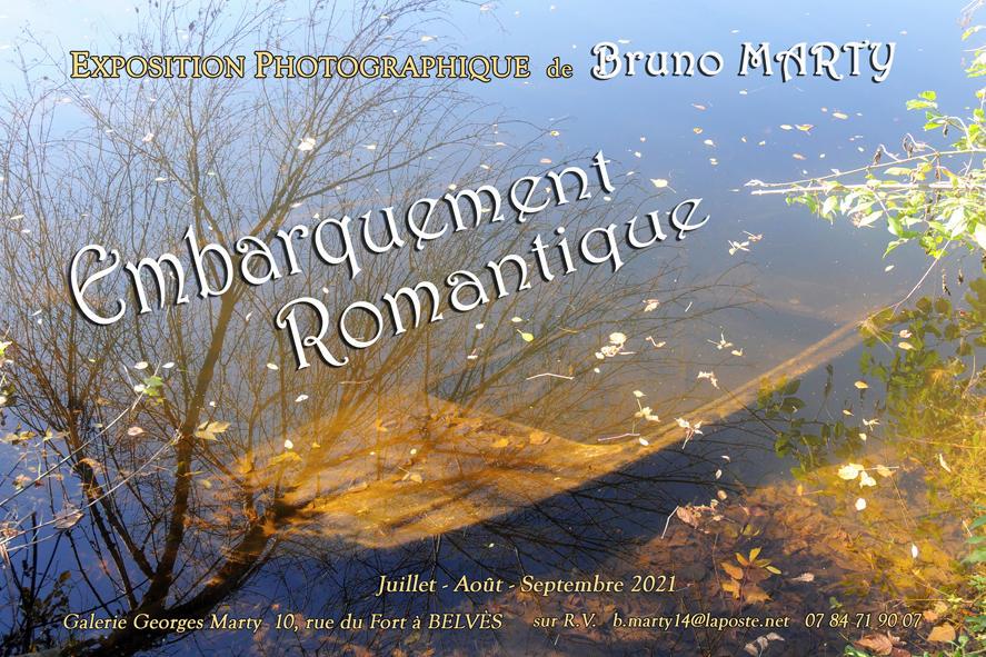 Affiche Expo Embarquement Romantique