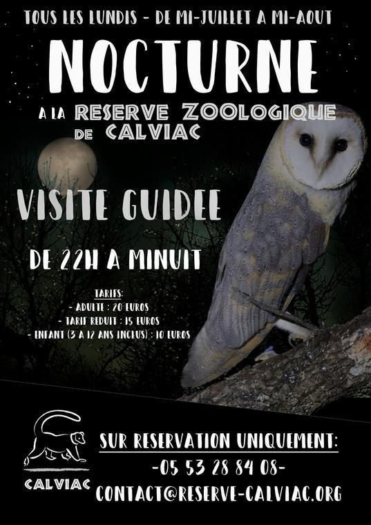 Réserve zoologique Calviac