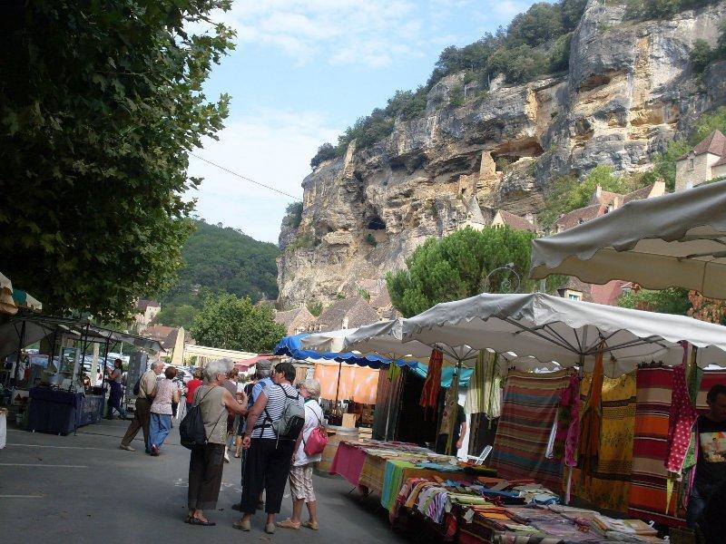 marché La Roque-Gageac