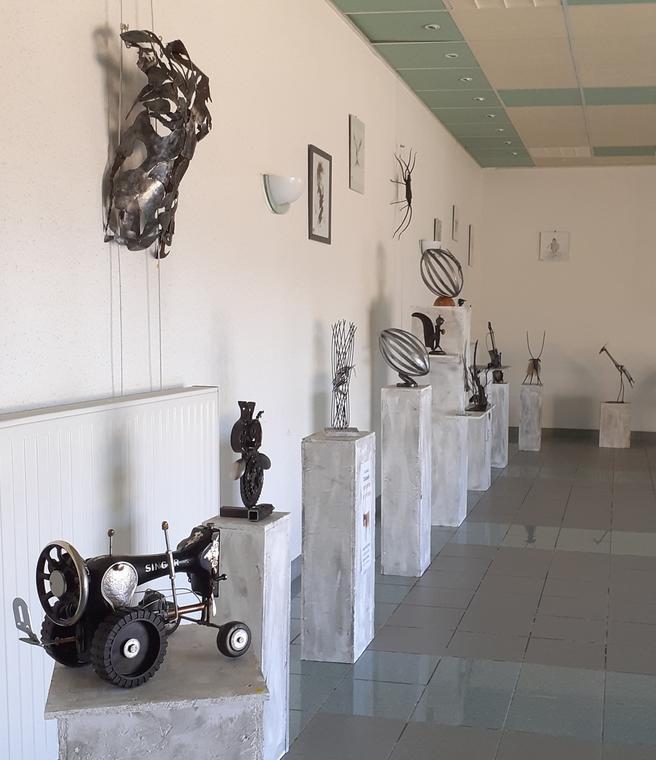 Exposition de sculptures d'Aurélien Delpech