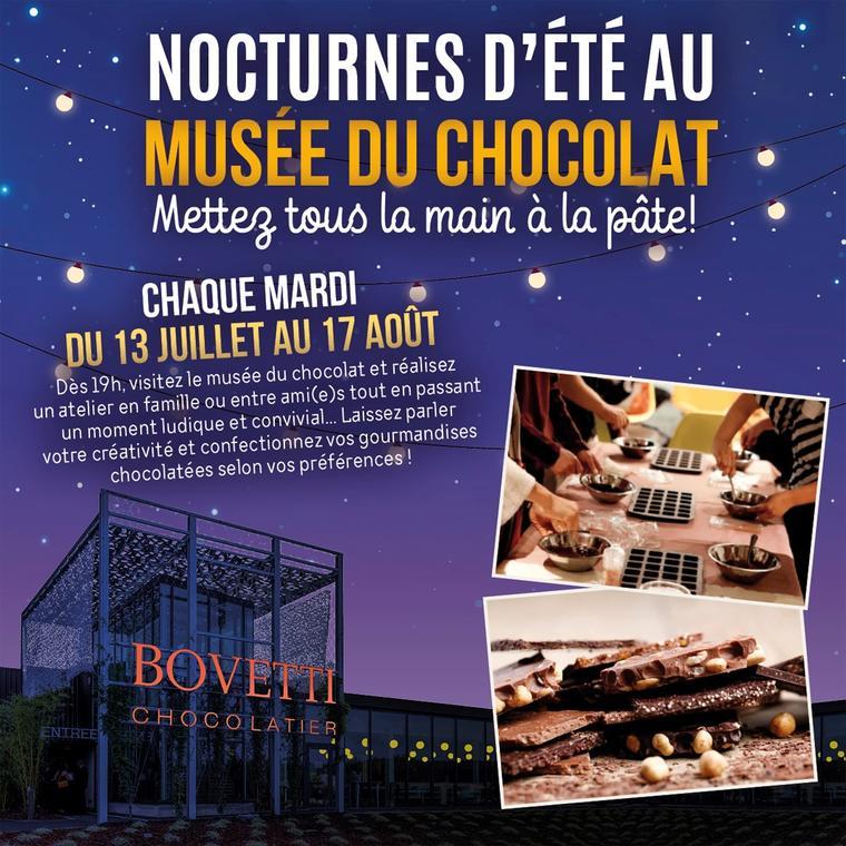 Nocturnes d'été au Musée du Chocolat Bovetti