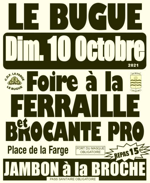 10102021_Foire à la ferraille_Le Bugue