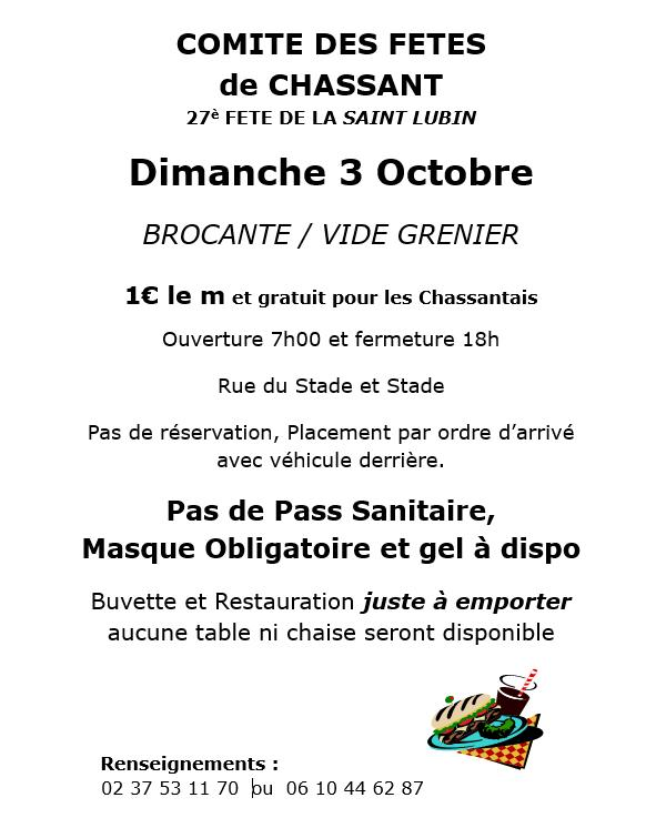 Brocante Chassant - T