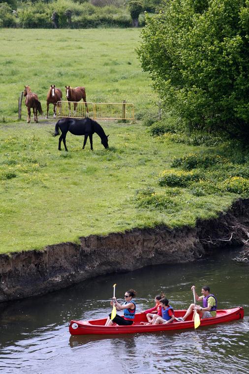 L'Huisne entre Orne et Eure-et-Loir