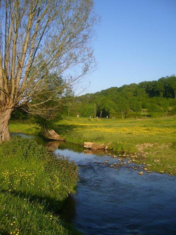 La Vallée de la Berthe et la butte de Rougemont - Vichères
