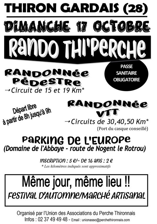 Rando 17 oct a Thiron Gardais- T