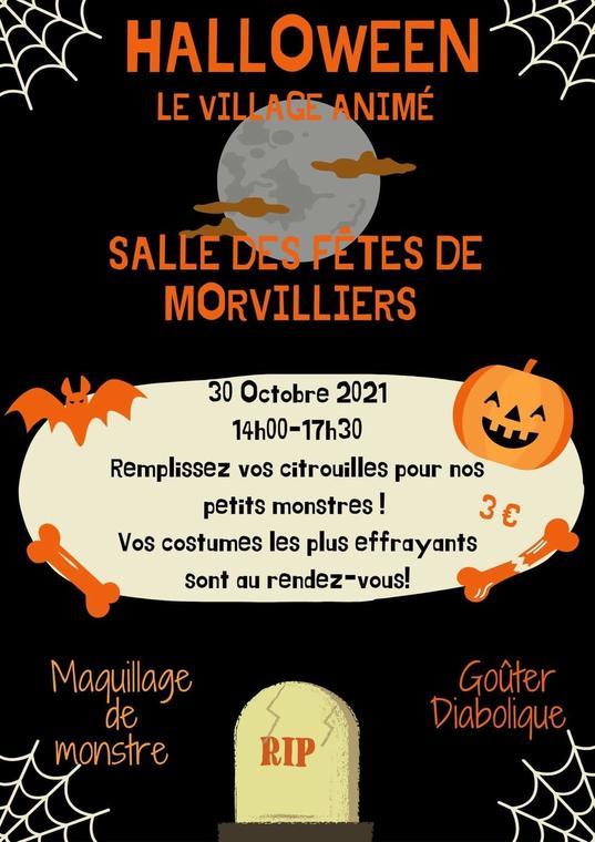 halloween 30 octobre morvilliers