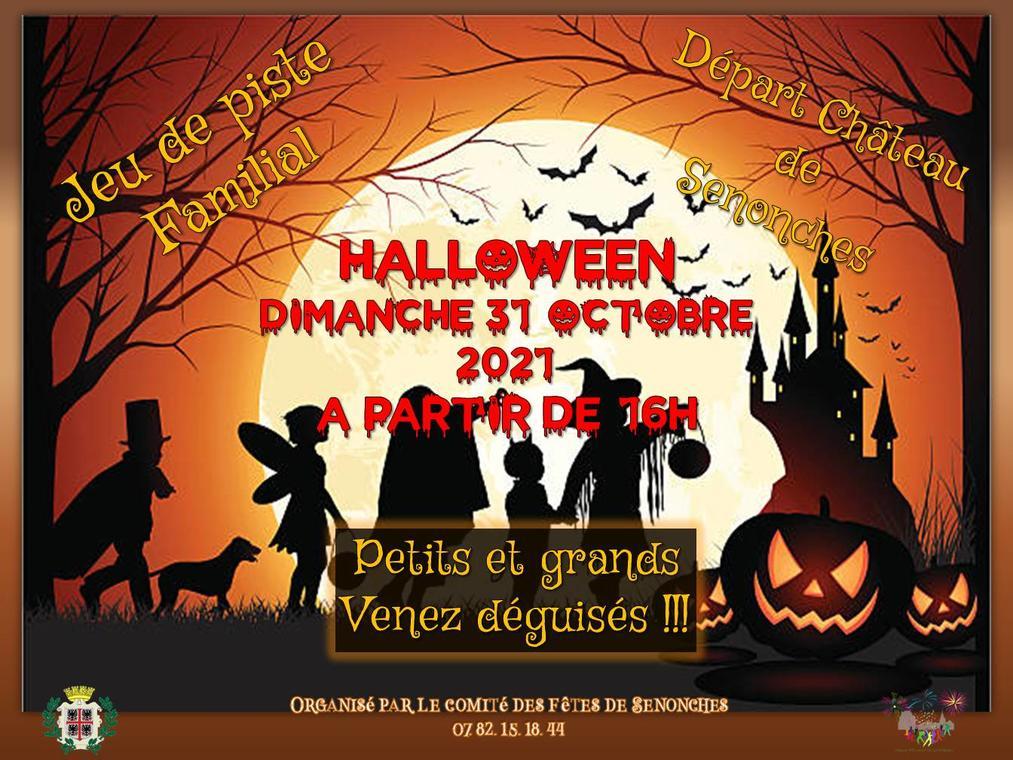 halloween comité des fetes de senonches 31 octobre
