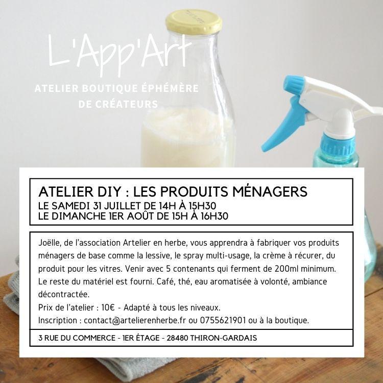 Ateliers  L'App'Art INSTA